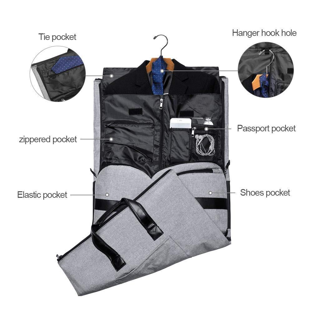 Bag with multiple zippered pockets